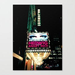 Hedwig at the Belasco Canvas Print
