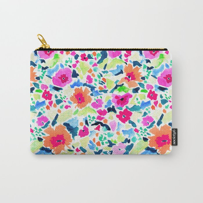 Liv's Room (Orange) Carry-All Pouch