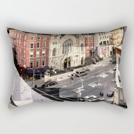 East Village NYC (2nd Ave.) Rectangular Pillow