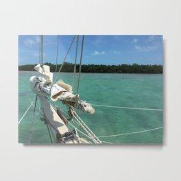Sailing Schooner Bowsprint Metal Print