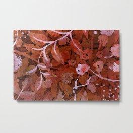 shrubbery Metal Print