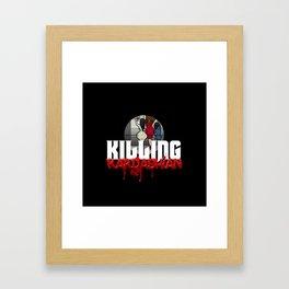 Killing Kardashian Sniper Logo Framed Art Print