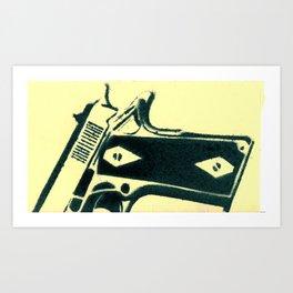 Colt45 Art Print