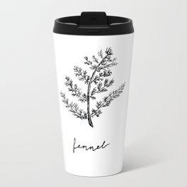 Fennel Metal Travel Mug