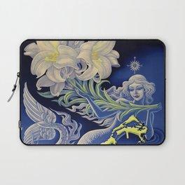 Vintage Mermaid Bermuda Laptop Sleeve