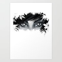 Triforce Stare Art Print