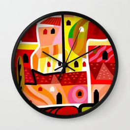 Gore Vidal in Ravello Wall Clock