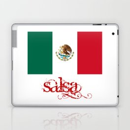 Mexico Flag - Salsa Laptop & iPad Skin