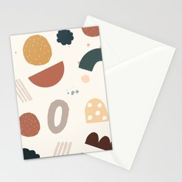 Geo Shapes Party Stationery Cards
