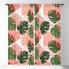 Tiki Palm Blackout Curtain