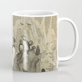Naturalist Penguin And Puffin Coffee Mug