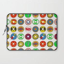 Superhero Donuts Laptop Sleeve