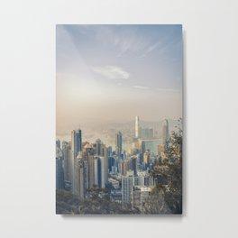 Hongkong Sunset Metal Print