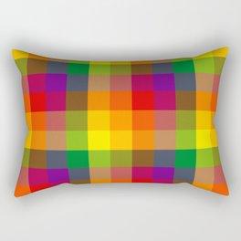 Pride Checkers Rectangular Pillow