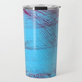 MEMORY MOSH - Glitch Art Print Travel Mug