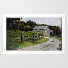 Vineyard in Cape May, NJ Art Print