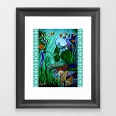 Little Mermaid. Framed Art Print