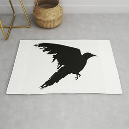 Ragged Raven Silhouette Rug