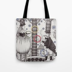 Winter Circus Tote Bag