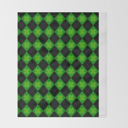 🍀 luck 🍀 Throw Blanket