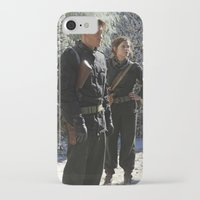 peggy carter iPhone & iPod Cases featuring Jack Thompson & Peggy Carter. by agentcarter23