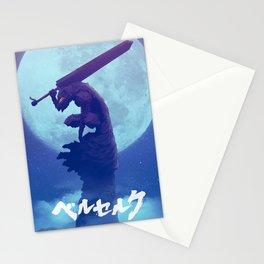 Berserk Moon Stationery Cards