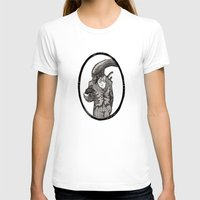 xenomorph T-shirts featuring Fancy Mr. Xenomorph by peter glanting
