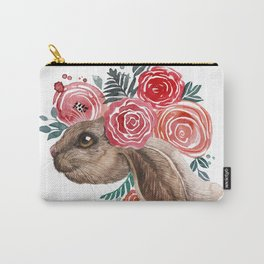 Bunny Valentine Carry-All Pouch