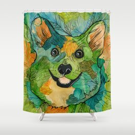 Squish Squish Shower Curtain