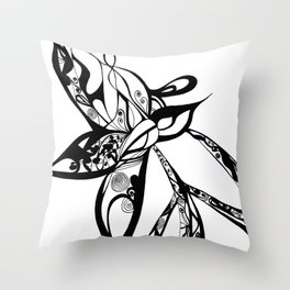 a journey for peace Throw Pillow
