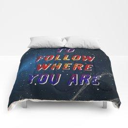 I'm wishing on a Star #2 - 50 Years Moonlanding Comforters
