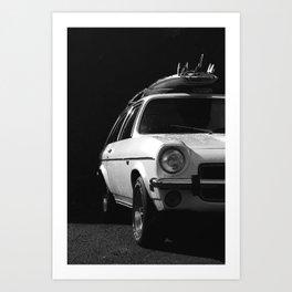 WHITE KNIGHT Art Print