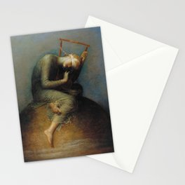 George Frederic Watts - Hope Stationery Cards