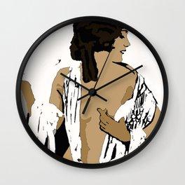 Femme Fatale circa 1920's Beautiful Women In A Bold New World Wall Clock