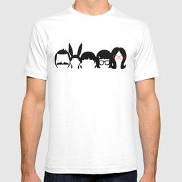 Bobs Burgers Family T-shirt