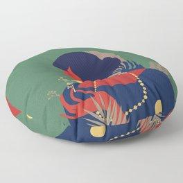 Abstractionism #1 Floor Pillow