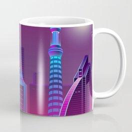 Synthwave Neon City #1 Coffee Mug