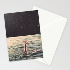 Drowned in space Stationery Cards