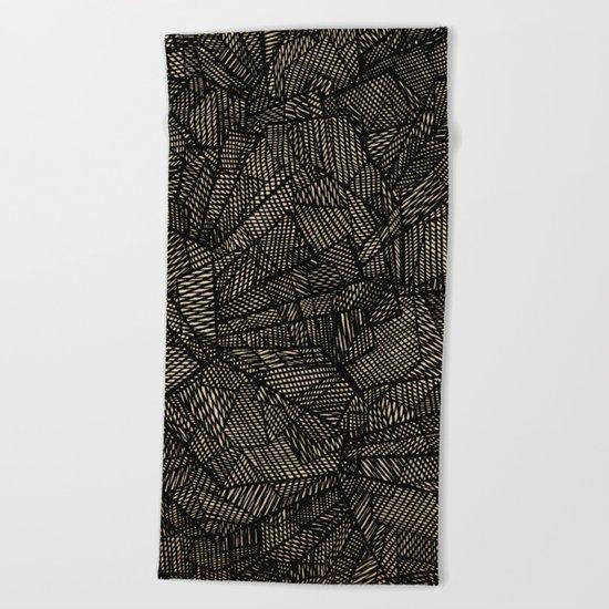 - étoile noire [blackstar] - Beach Towel