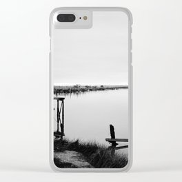 Whitebaiting Clear iPhone Case