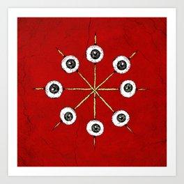 Circle of Hell Art Print