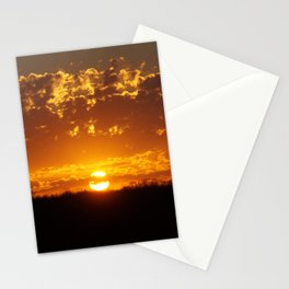 Victoria Sunset Stationery Cards