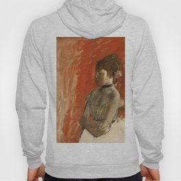 Edgar Degas Ballet Dancer with Arms Crossed, 1872 Hoody