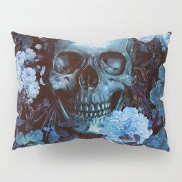 Skull and Flowers Pillow Sham