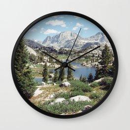 Wyoming Summer Wall Clock