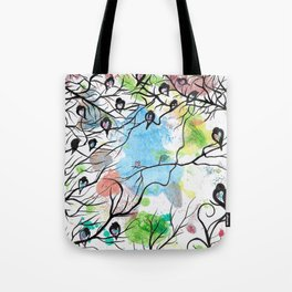 LOVING YOU IN SILENCE by mrs Wilkes Tote Bag