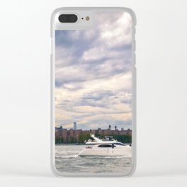 Lil Yacht-y Clear iPhone Case