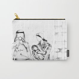 Away In A Manger Carry-All Pouch