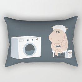 Wool wash Rectangular Pillow