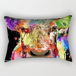 Cow Grunge Rectangular Pillow